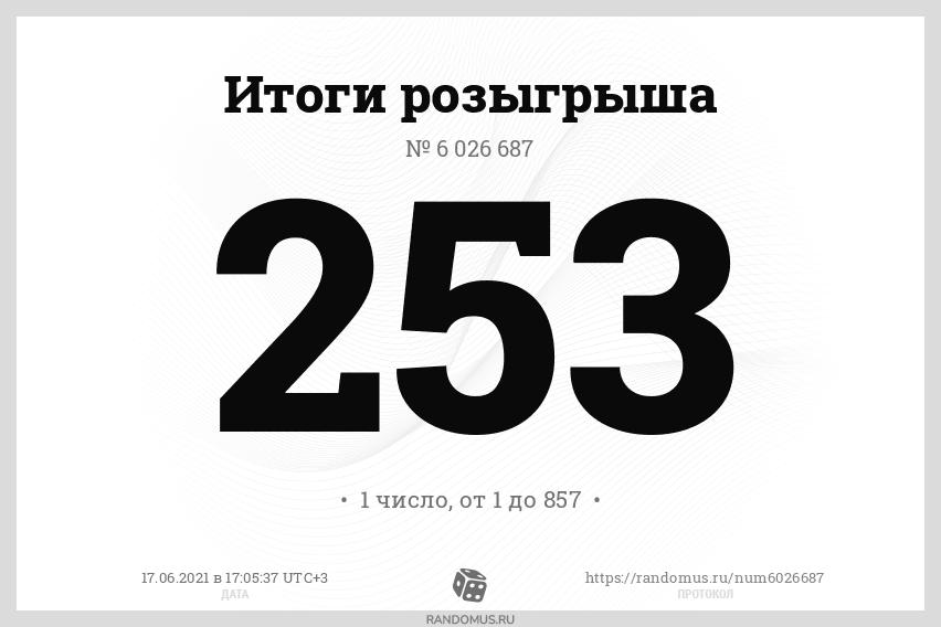 """Розыгрыш № 6026687. Акция """"Техника в подарок"""" с 01 апреля по 14 июня 2021г."""